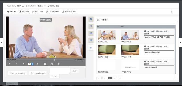 動画シーン管理/検索
